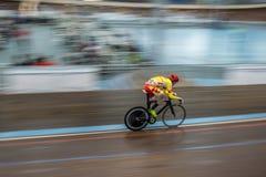 Radfahrenrennen Innen Lizenzfreie Stockbilder