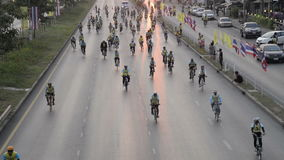 Radfahrentipps stock footage