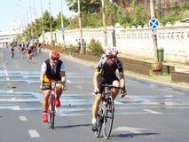 Radfahrenwettbewerb in Bukarest Stockfoto