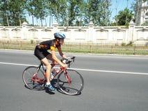 Radfahrenwettbewerb in Bukarest Lizenzfreies Stockfoto