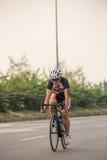 Radfahrenwettbewerb in Thailand lizenzfreie stockfotografie