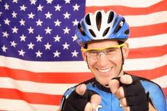 Radfahrer lizenzfreies stockbild