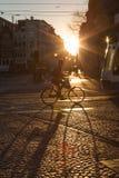 Radfahrer in Amsterdam Lizenzfreie Stockbilder