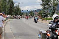 Radfahrer der USA-PROeinen.kreislauf.durchmachenherausforderungs-Stufe 5 Lizenzfreies Stockfoto