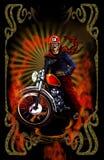 Radfahrer und Rocker Lizenzfreie Stockbilder