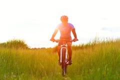 Radfahrermann Lizenzfreies Stockbild