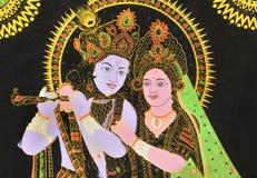 Radha και Krishna. στοκ φωτογραφία με δικαίωμα ελεύθερης χρήσης