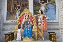 Radha και Krishna στοκ εικόνα