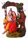 radha de krishna photo libre de droits
