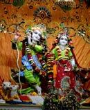 Radha Krishna Hinduski bóg Fotografia Stock