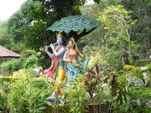 Radha Krishna idol Zdjęcie Royalty Free