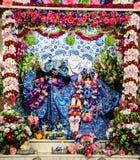 Radha Krishna idols at temple Stock Photo