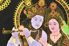 Radha and Krishna. Royalty Free Stock Photos