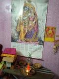 RadhaKrishna Indian Love God worship royalty free stock images