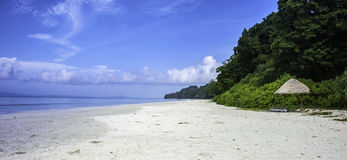 Radhanagar beach. Empty beach. Was voted the most beautiful and the best in Asia Royalty Free Stock Photography