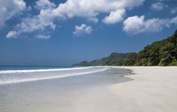 Radhanagar beach. Havelock island, Andamans stock images