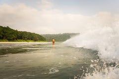Radhanagar-Strand in Insel Andaman und Nicobar, Indien lizenzfreie stockfotografie