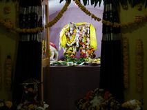 Radhe Krishna 免版税库存照片