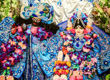 Radhe Krishna lizenzfreie stockfotos