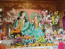 Radhe Krishna Imágenes de archivo libres de regalías
