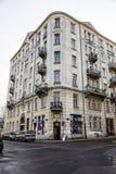 Radhus i den modernistiska stilen i Warszawa Fotografering för Bildbyråer