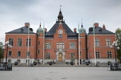 Radhuset i Umea, Sverige Arkivfoton