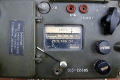 Radiómetro militar soviético viejo Fotografía de archivo libre de regalías