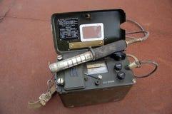 Radiómetro militar soviético viejo Foto de archivo libre de regalías