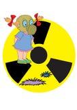 Radiação ilustração do vetor