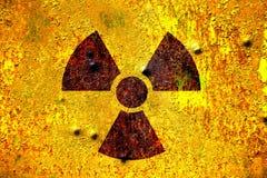 Radiação nuclear Foto de Stock Royalty Free