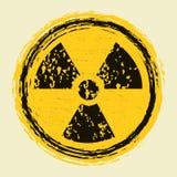 Radiação nuclear ilustração royalty free
