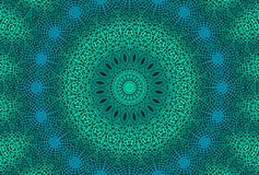 Radiaal gestippeld patroon royalty-vrije illustratie