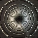 Radiaal geweven abstract patroon Stock Foto