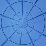 Radiaal geweven abstract patroon Stock Fotografie