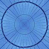Radiaal geweven abstract patroon Royalty-vrije Stock Foto's