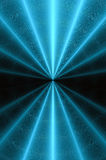 Radiaal gloeiend abstract patroon B. Stock Fotografie