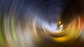 Radiaal onduidelijk beeld van stadslichten bij nacht stock afbeeldingen