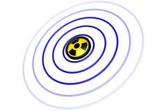 Radiación stock de ilustración