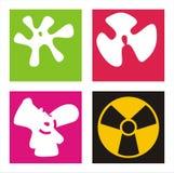 Radiación Imagen de archivo