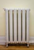 Radiador antiguo del calor Foto de archivo libre de regalías