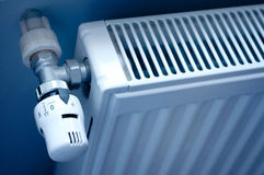 Radiador de la calefacción foto de archivo