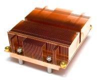 Radiador de un refrigerador Imagen de archivo