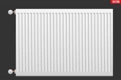 Radiador do aquecimento do metal Fotografia de Stock Royalty Free