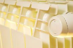 Radiador e válvula do aquecimento Imagem de Stock Royalty Free