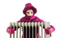 Radiador frio fotos de stock