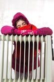 Radiador frio imagem de stock