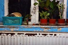 Radiador oxidado, destruido, devastado, mohoso imagenes de archivo