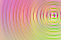 Radial abstract background. Pink, yellow and green radial abstract background Royalty Free Stock Images