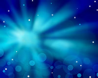 Radial abstract blue background Royalty Free Stock Image