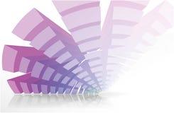 Radial abstrato   Imagens de Stock